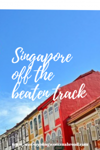 Singapore off the beaten track. Balistier Heritage Trail