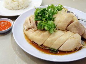 Chicken rice Singapore
