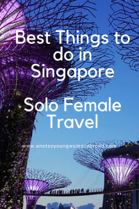 Best Things to do in Singapore #travel #solofemaletravel
