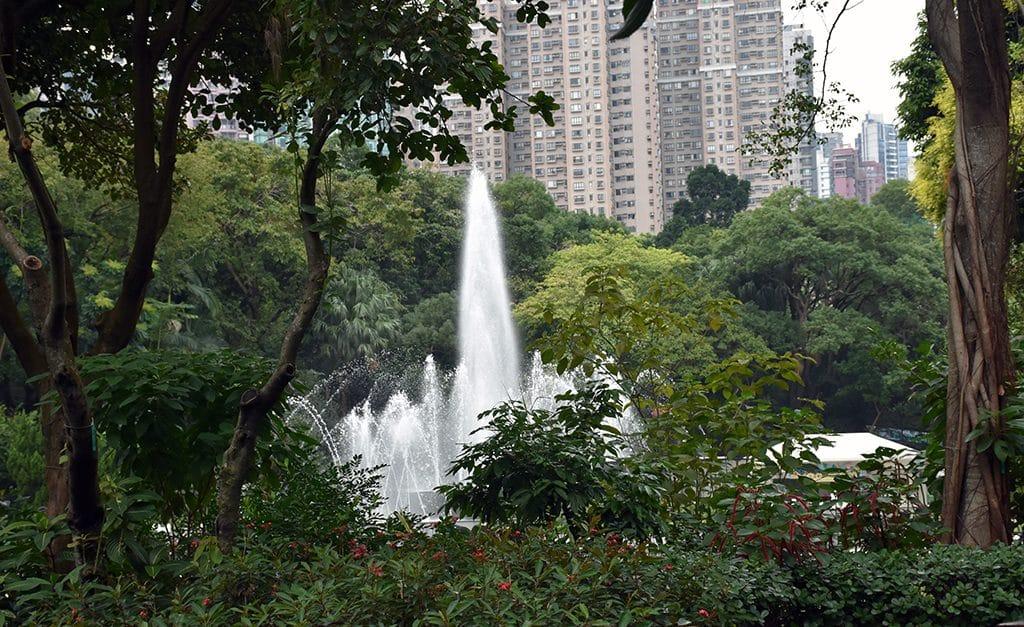 Botanical gardens Hong Kong
