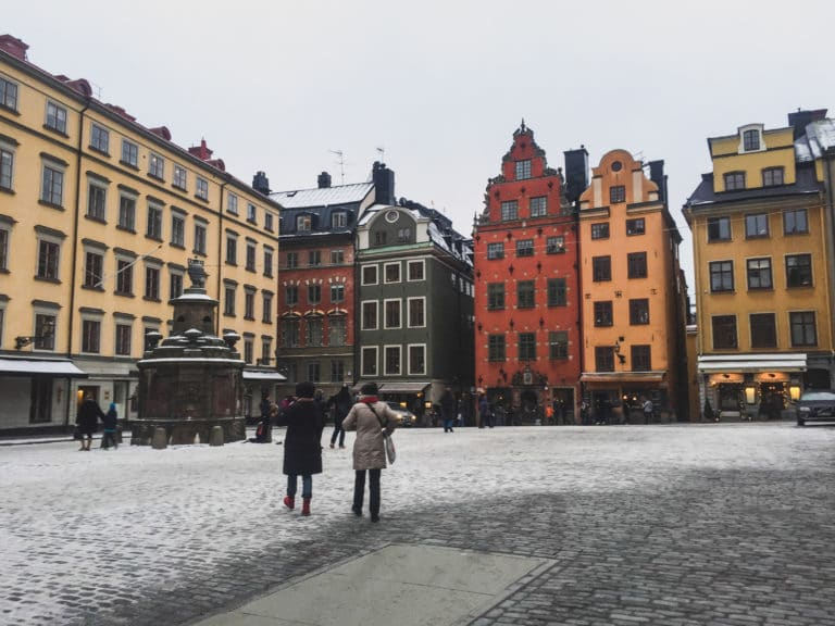 Solo female travel Sweden