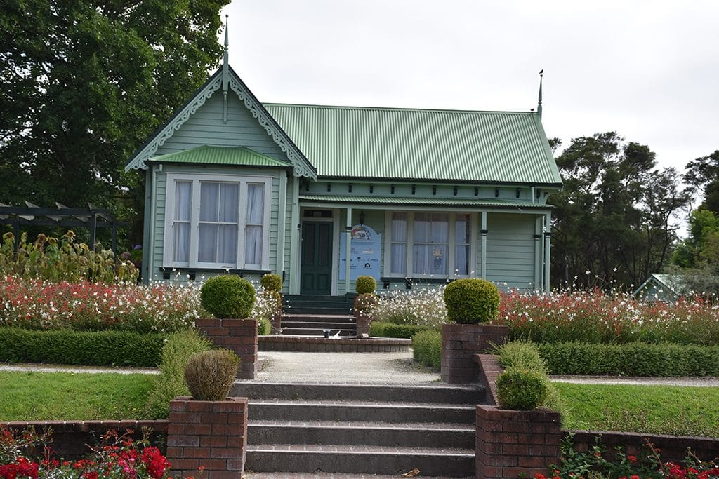 Gardener's cottage Rotorua Government Gardens
