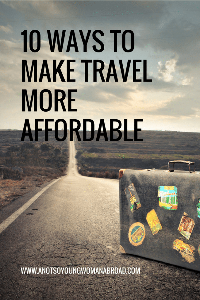 10 Ways to make travel more affordable