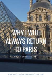 Paris for solo travellers