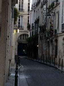 Rue Git Le Coeur in the Latin Quarter Paris