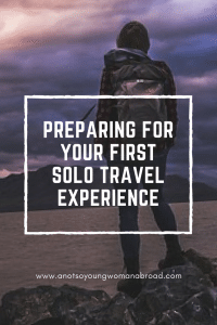 Tips for first time Solo Female Travel