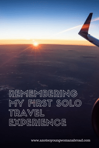 Solo travel experience