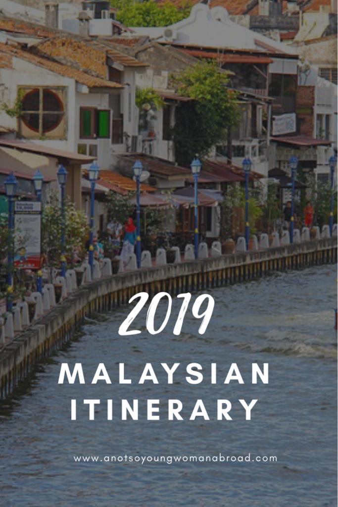 2019 Malaysia Itinerary