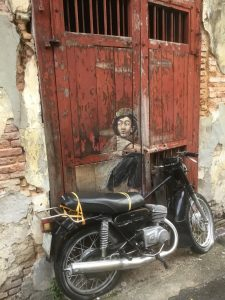 Boy on a Motorcycle Georgetown Penang