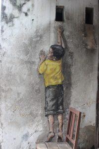 Boy on chair Penang
