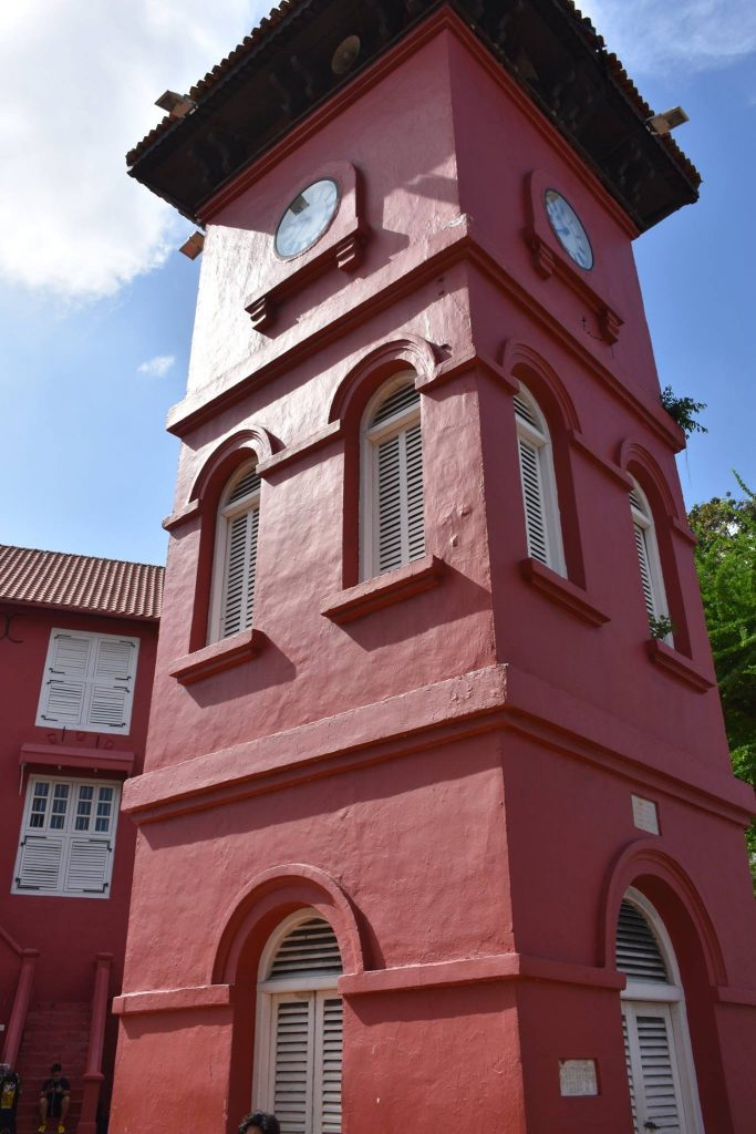 The Clocktower in Red Square Melaka