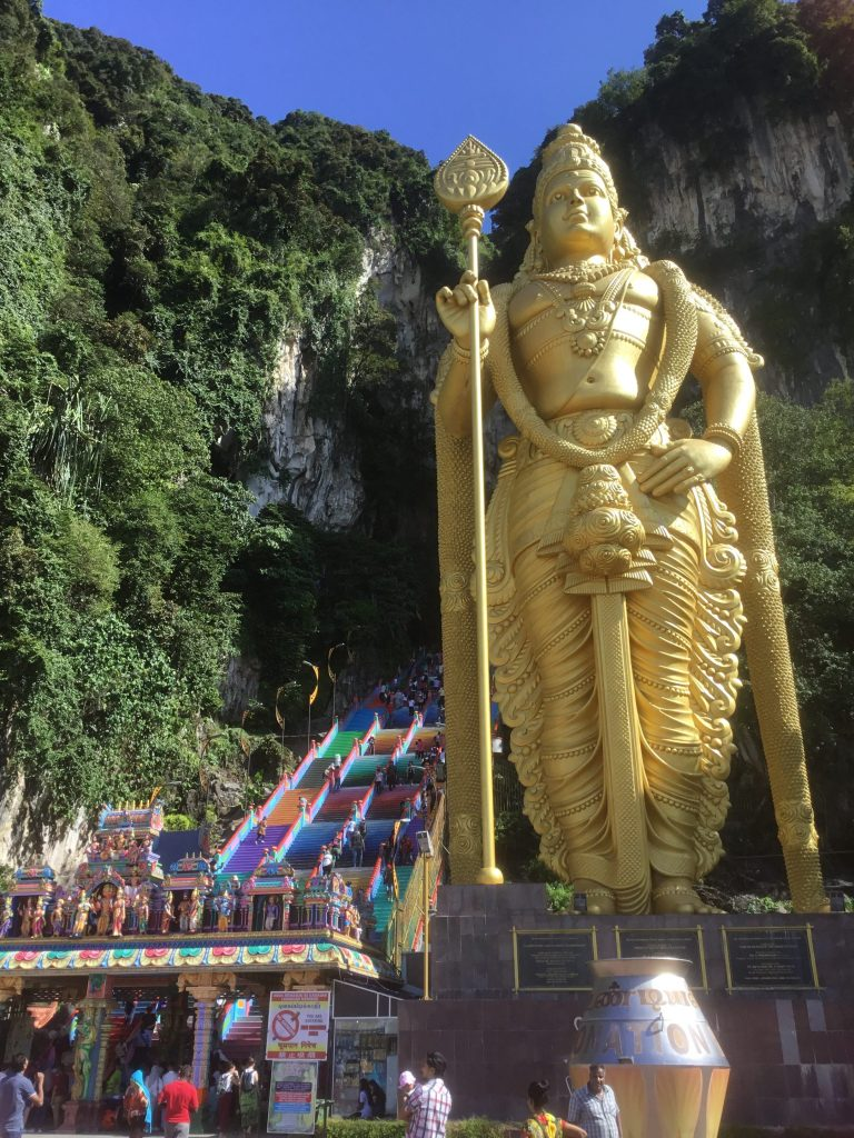 Lord Murugan statue Batu Caves