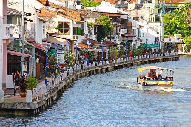 Boat cruise Melaka