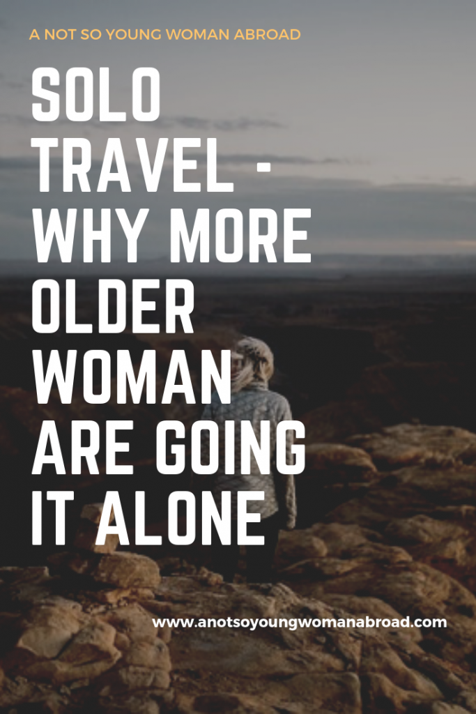 Solo travel- why more older women are going it alone