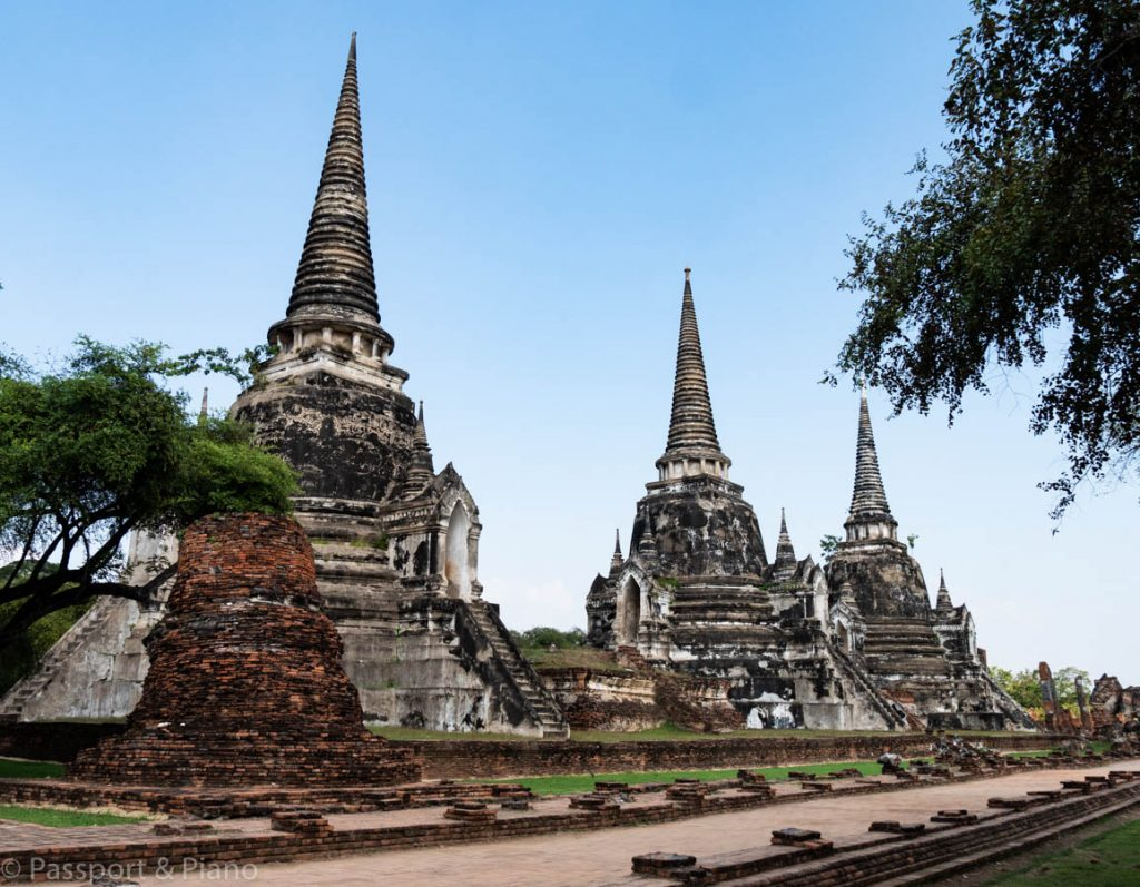 temples in Ayutthaya.