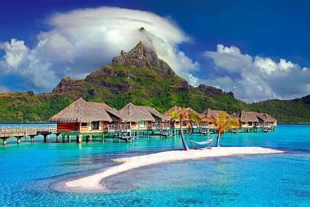 Resort over water